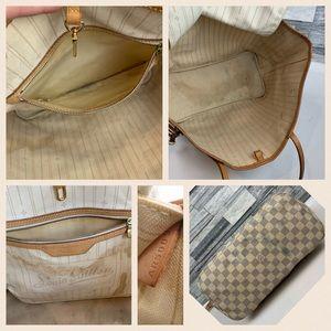 Louis Vuitton Bags - Louis Vuitton tote bag damier azur neverfull MM